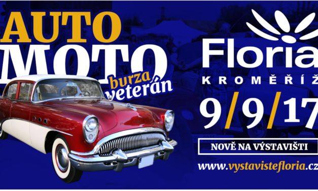 AutoMoto Veterán Burza v Kroměříži na Florii